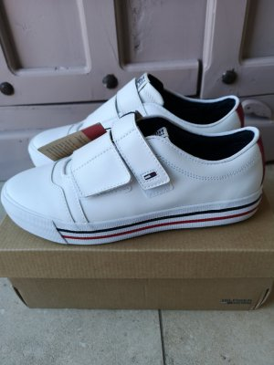 Tommy Hilfiger Schuhe Slipper Leder Sneaker Gr 38