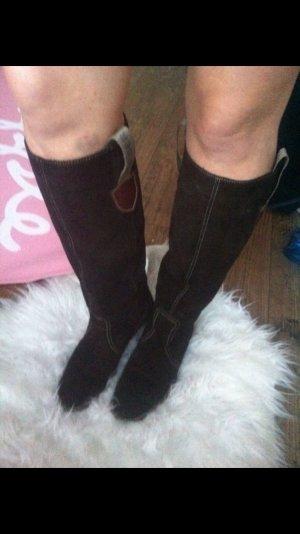 Tommy hilfiger Schuhe Stiefel braun Winter Wildleder 38