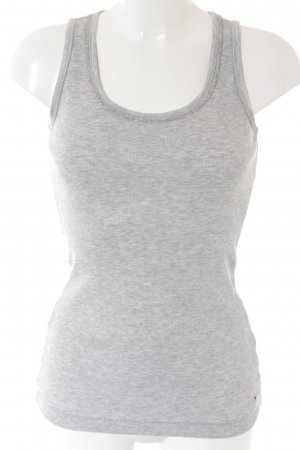 Tommy Hilfiger Off-The-Shoulder Top light grey casual look