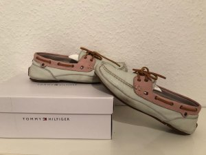 Tommy Hilfiger Sailing Shoes multicolored leather