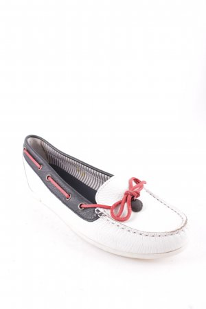 Tommy Hilfiger Sailing Shoes white-dark blue sailor style