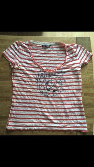 Tommy Hilfiger Print Shirt red-white