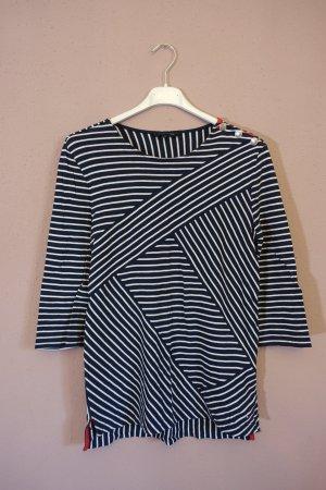 Tommy Hilfiger Shirt, 3/4-Arm, maritim, Knöpfe, Oberteil, Streifen