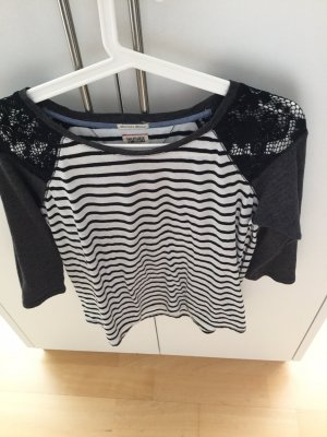 Tommy Hilfiger Gestreept shirt zwart-wit
