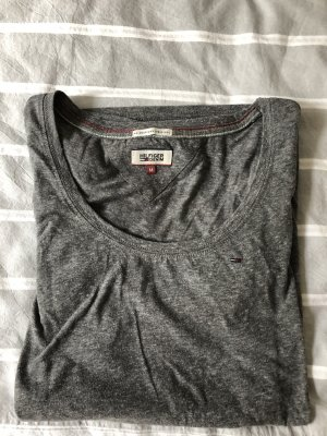 Tommy Hilfiger Denim Top à col bateau gris