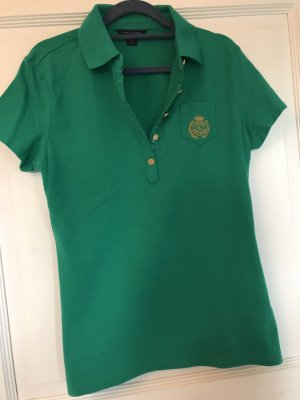 Tommy Hilfiger Polo Shirt gold-colored-green