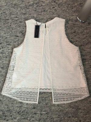 Tommy Hilfiger Crochet Shirt white