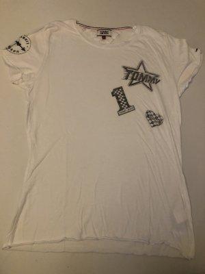 Tommy Hilfiger Camiseta blanco-color plata