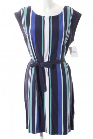 Tommy Hilfiger T-shirt jurk gestreept patroon casual uitstraling