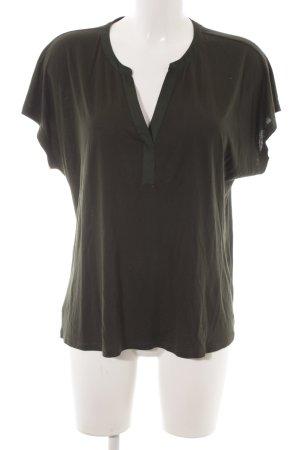Tommy Hilfiger Shirt Tunic dark green elegant