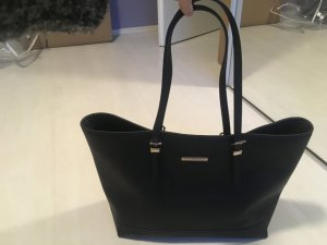 Tommy Hilfiger Shopper black leather