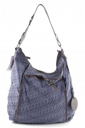 Tommy Hilfiger Shopper blau-braun Casual-Look