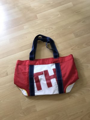 Tommy Hilfiger Shopper-/Strand Tasche, festes dickeres Nylonmaterial