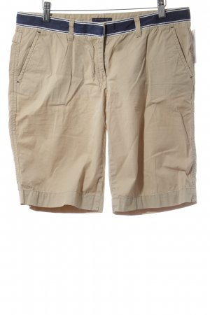 Tommy Hilfiger Shorts beige-blu scuro stile casual