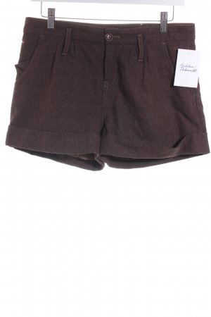 Tommy Hilfiger Shorts braun meliert Casual-Look