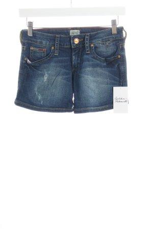 Tommy Hilfiger Shorts dunkelblau Street-Fashion-Look