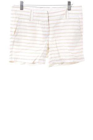 Tommy Hilfiger Shorts hellbeige-beige Streifenmuster Casual-Look