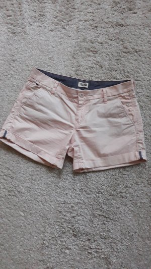 Tommy Hilfiger Denim Short vieux rose coton