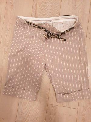 Tommy Hilfiger Shorts Short beige/gestreift Größe 10 (36-38)