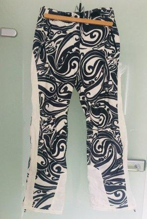 Tommy Hilfiger Pantalone da neve bianco-nero