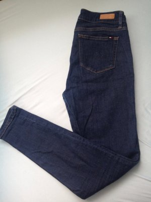Tommy Hilfiger Hoge taille jeans donkerblauw-blauw