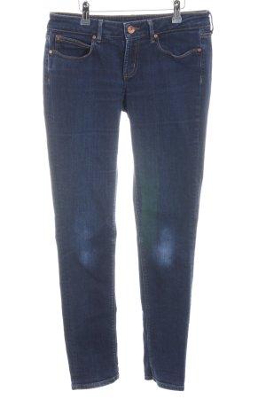 Tommy Hilfiger Skinny Jeans blau-dunkelblau Farbtupfermuster Casual-Look