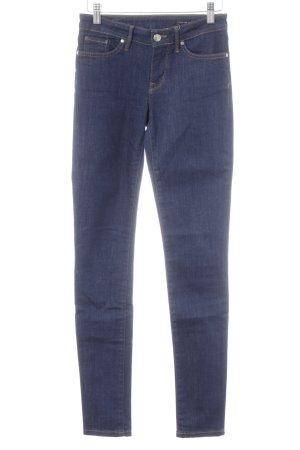 Tommy Hilfiger Skinny Jeans dunkelblau-silberfarben Casual-Look