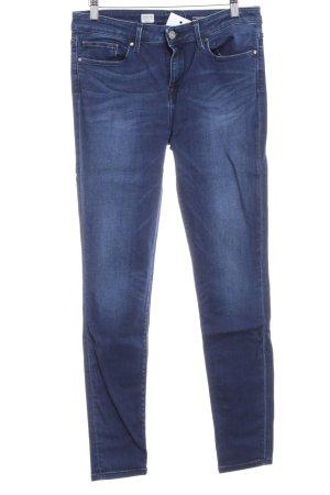 Tommy Hilfiger Jeans skinny blu scuro-bianco sporco aspetto di seconda mano