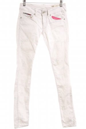 Tommy Hilfiger Skinny Jeans florales Muster Casual-Look