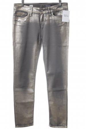Tommy Hilfiger Skinny Jeans grey-rose-gold-coloured spots-of-color pattern