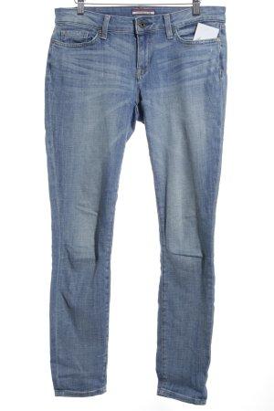 Tommy Hilfiger Skinny Jeans himmelblau Washed-Optik
