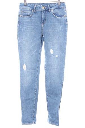 Tommy Hilfiger Skinny Jeans Karomuster Washed-Optik
