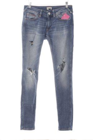 Tommy Hilfiger Skinny Jeans kornblumenblau Jeans-Optik