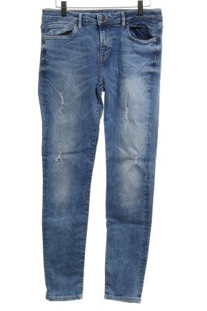 Tommy Hilfiger Skinny Jeans kornblumenblau meliert Casual-Look