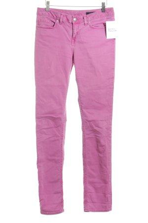 Tommy Hilfiger Skinny Jeans neonpink Street-Fashion-Look
