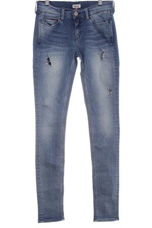 "Tommy Hilfiger Skinny Jeans ""NORA EABST"" stahlblau"