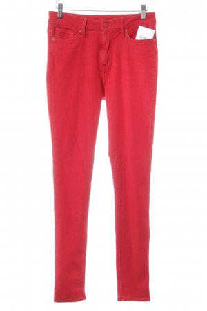 Tommy Hilfiger Skinny Jeans rot schlichter Stil