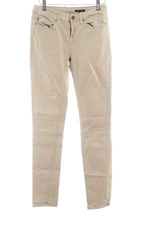 Tommy Hilfiger Skinny Jeans sandbraun-goldfarben schlichter Stil
