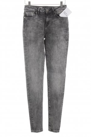 Tommy Hilfiger Skinny Jeans black-grey Rivet elements