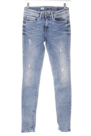 Tommy Hilfiger Skinny Jeans steel blue distressed style