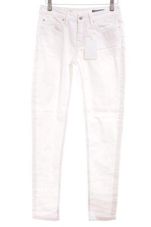 Tommy Hilfiger Skinny Jeans weiß-silberfarben Casual-Look
