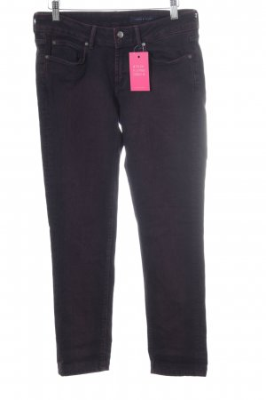Tommy Hilfiger Slim Jeans brombeerrot Casual-Look
