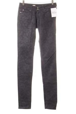 Tommy Hilfiger Slim Jeans dunkelblau Blumenmuster Casual-Look