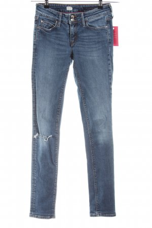 Tommy Hilfiger Slim Jeans blau Business-Look