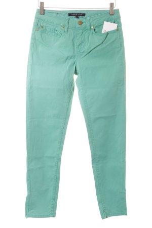 Tommy Hilfiger Slim Jeans grün-goldfarben Casual-Look