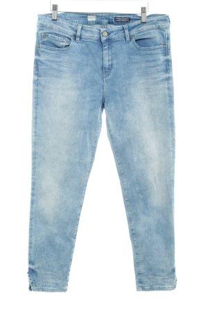 Tommy Hilfiger Slim Jeans himmelblau-kornblumenblau Used-Optik