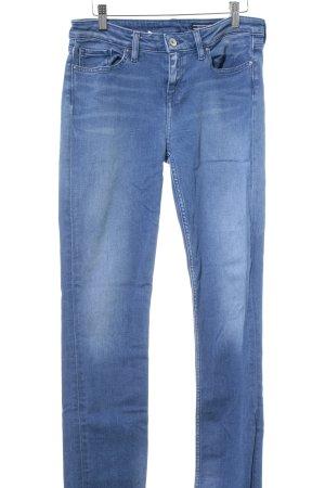 Tommy Hilfiger Slim Jeans kornblumenblau Casual-Look
