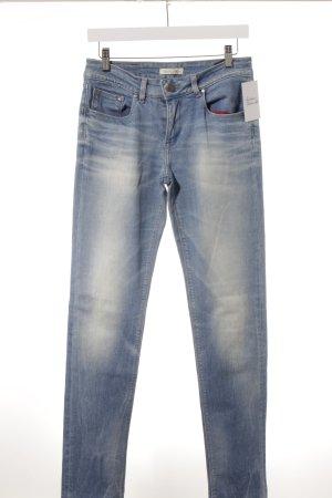 Tommy Hilfiger Jeans slim fit blu fiordaliso-azzurro stile casual