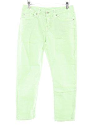 Tommy Hilfiger Slim Jeans neongrün extravaganter Stil