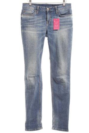 Tommy Hilfiger Slim Jeans stahlblau Casual-Look